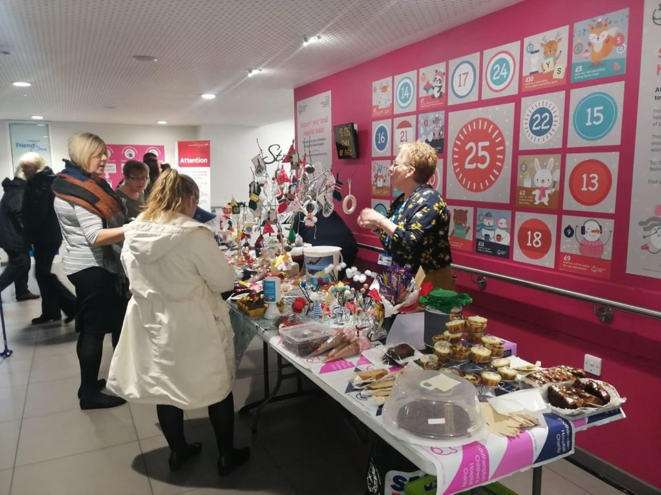 Division D Christmas Cake & Craft Sale