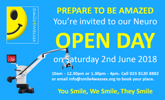 Smile4Wessex Neuro Open Day