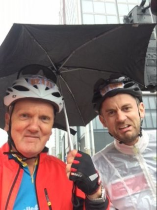 Keith Completes Charity Cycle Challenge