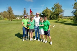 Guernsey Golfers are all Hearts & Smiles