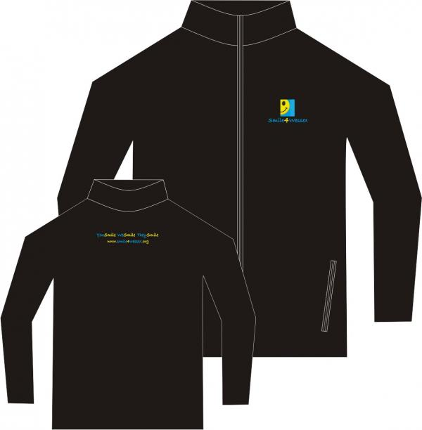 Fruit of the Loom children's fleece, made from 300 gsm Non-Pill polyester.
